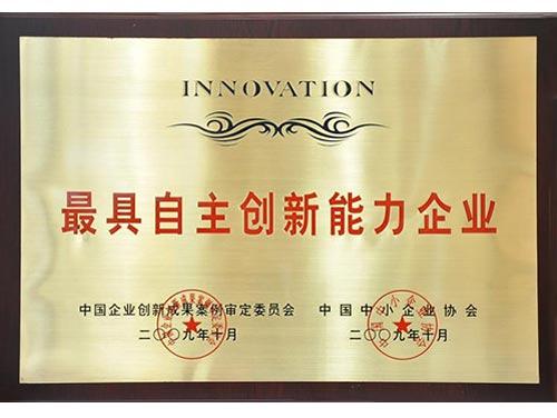 自主创新能力企业