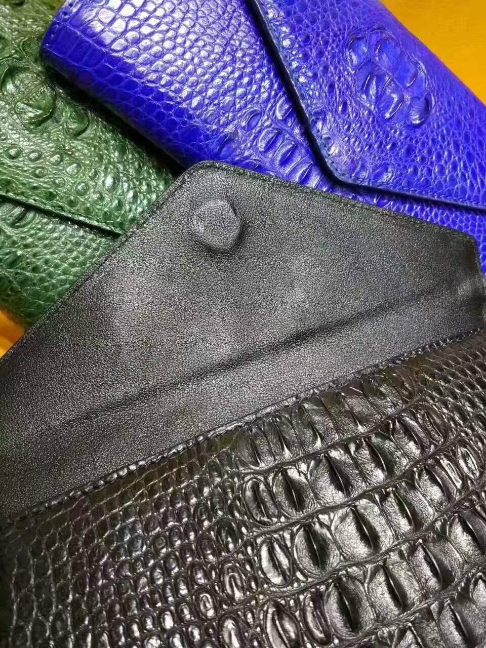 泰国暹罗鳄鱼皮横款晚礼包02261350TLD4