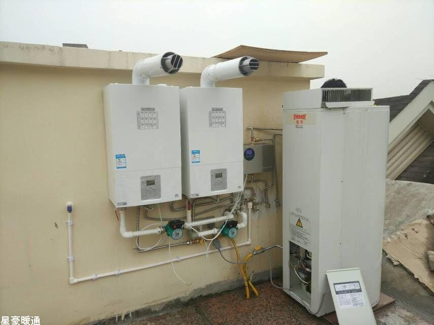大川水岸171号--水地暖+生活热水系统