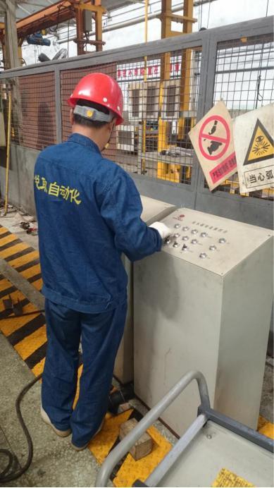 中车龙门铣安装维修调试