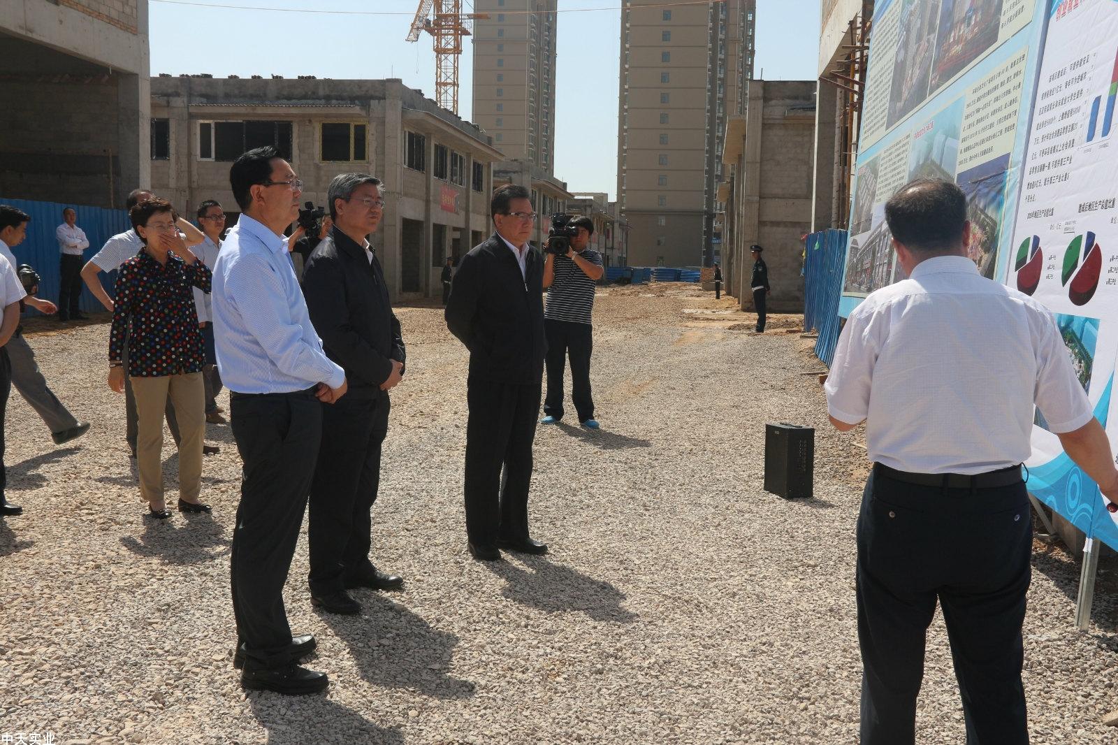 2016年6月13省政协主席冯健身一行视察工作