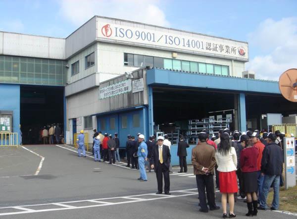 访问日本知名商用车企业