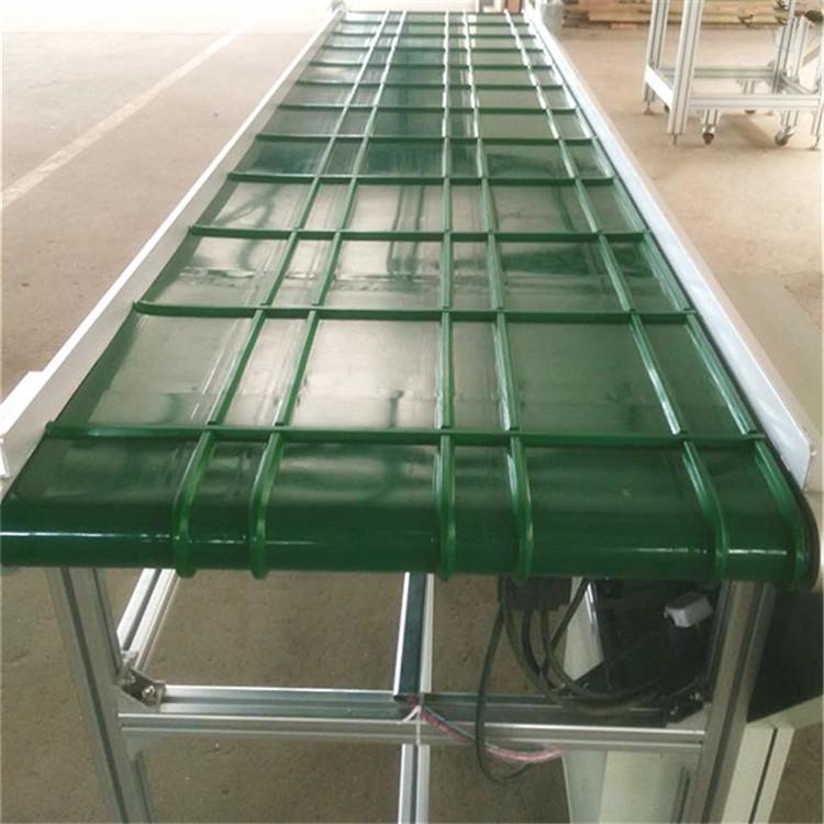 鋁型材皮帶輸送機