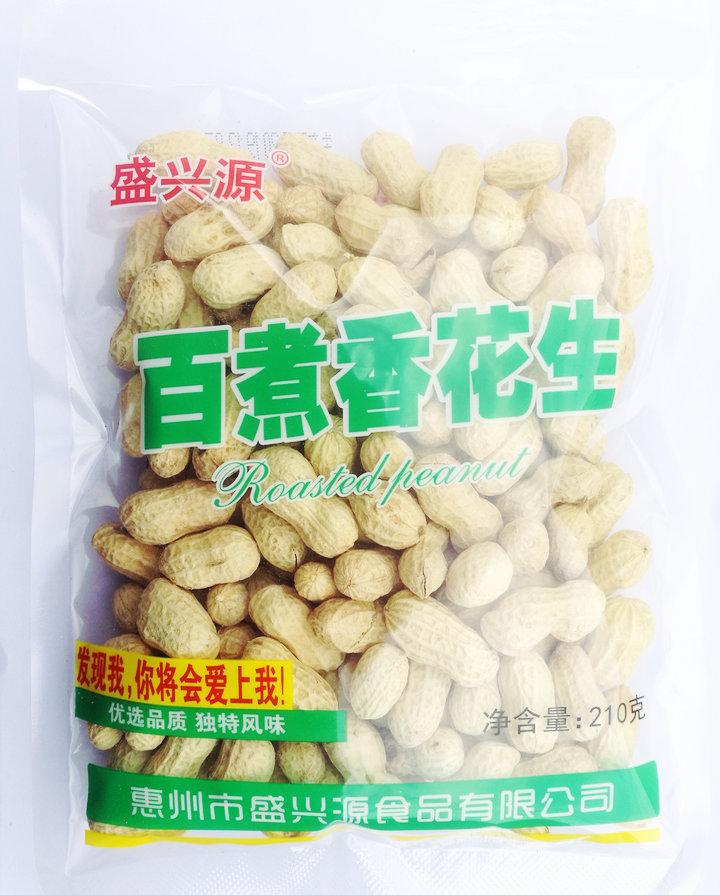 白沙果/百煮香花生210g