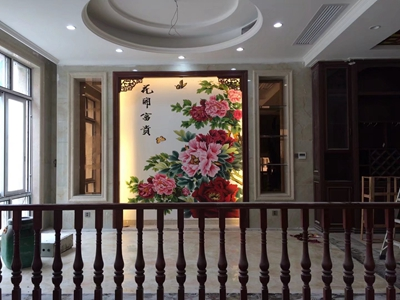 惠州惠东李小姐别墅壁画(2)
