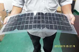 软性柔性可弯曲太阳能电池板