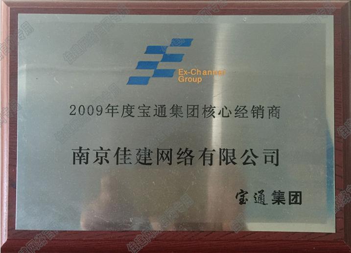 2009 宝通集团 核心经销商