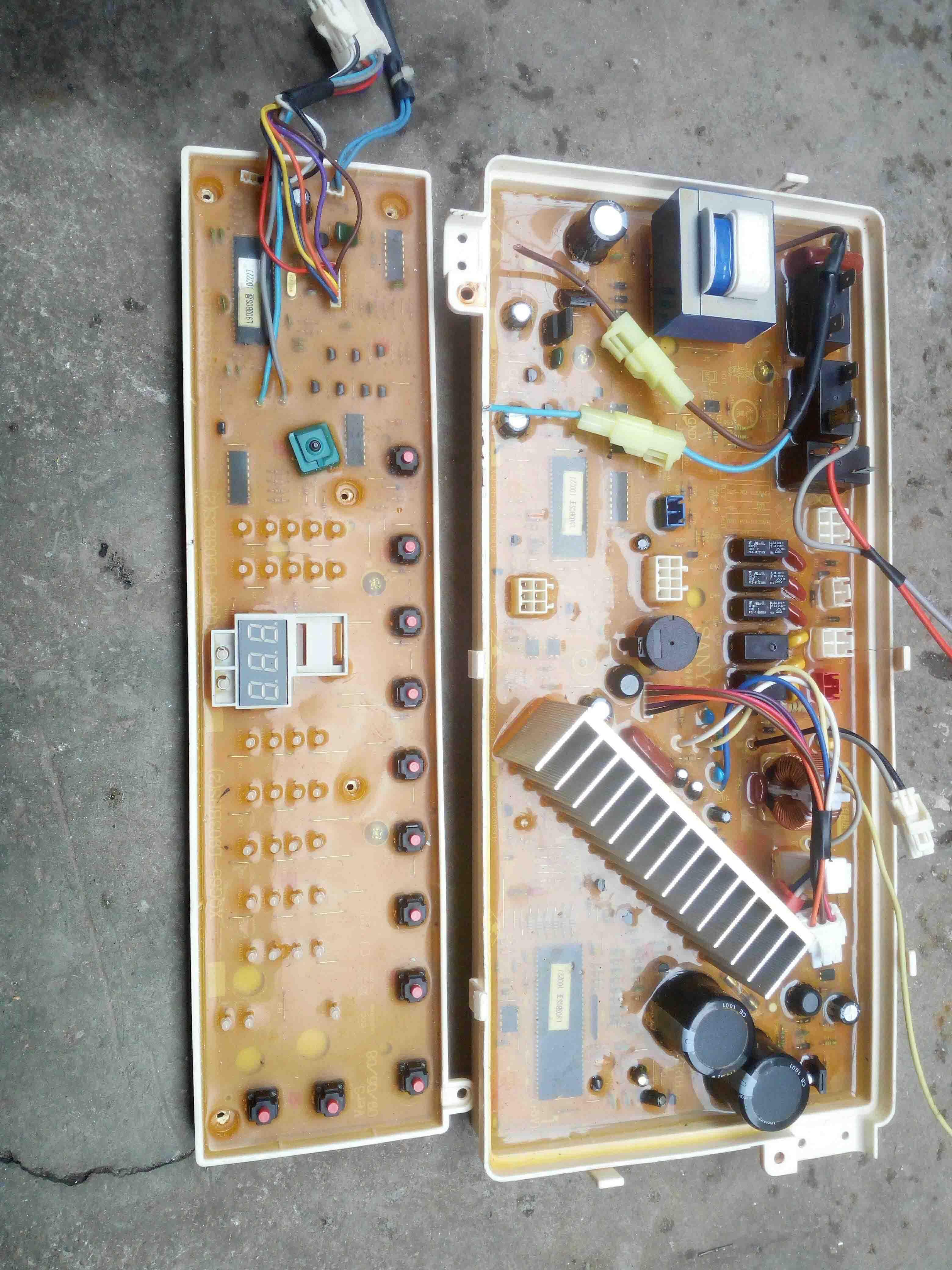 三洋洗衣机电路板维修