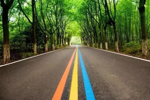 溧阳1号公路,随手一拍就是风景