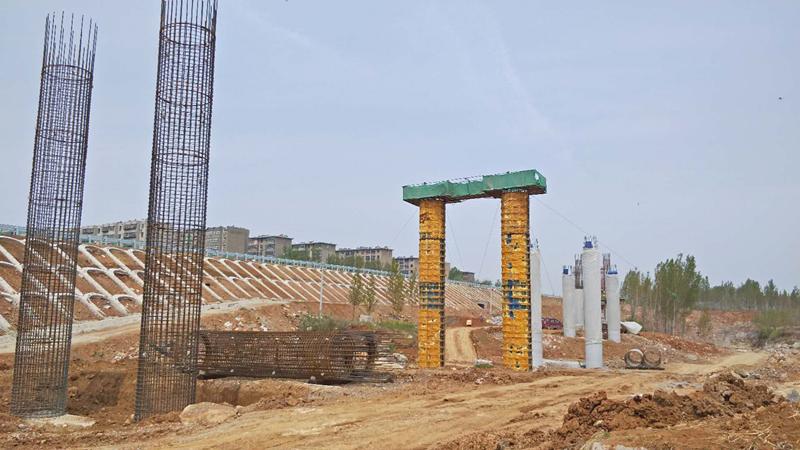 长春经济圈环线桥梁下部工程