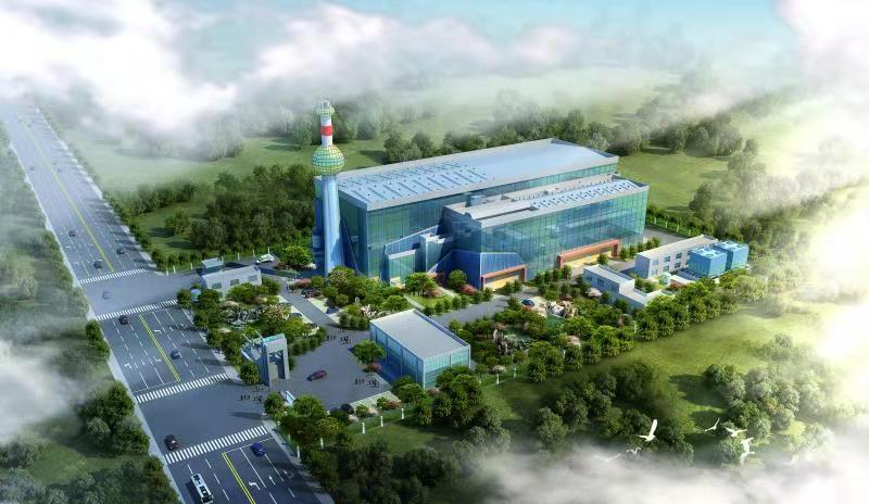 台州3x150/d工业垃圾与生活垃圾混合热解项目(在建中)