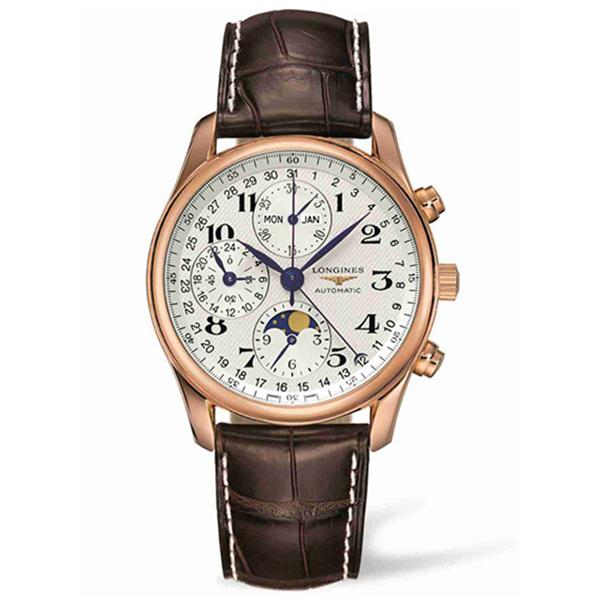 【JF厂】浪琴名匠系列L2.673.8.78.3八针月相计时手表