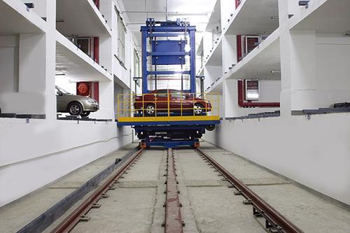 平面移動類機械式停車設備