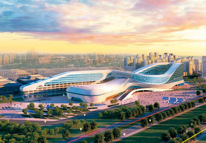 中鐵青島世界博覽城會議中心及配套項目