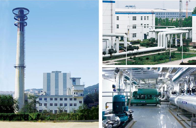 青岛社会福利院供热工程