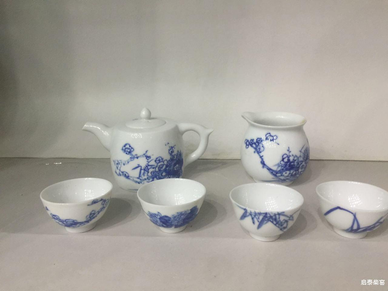 精品手绘茶具