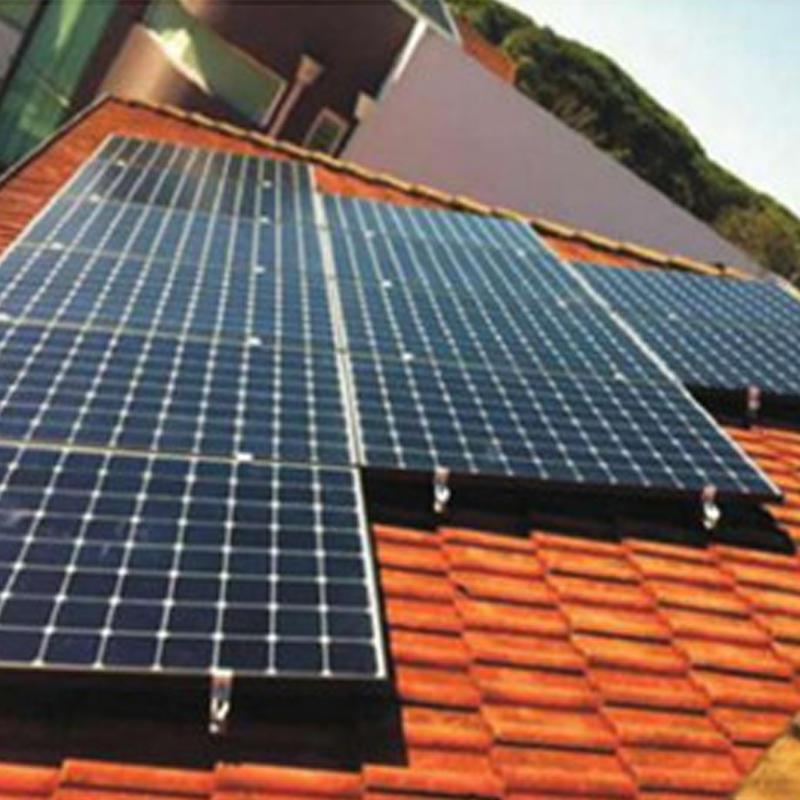 贵州威廉体育app光伏发电系统(瓷瓦屋顶)安装系统