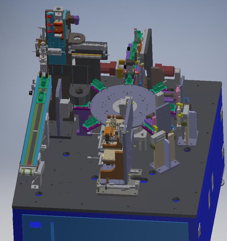 汽车连接器自动CCD检测
