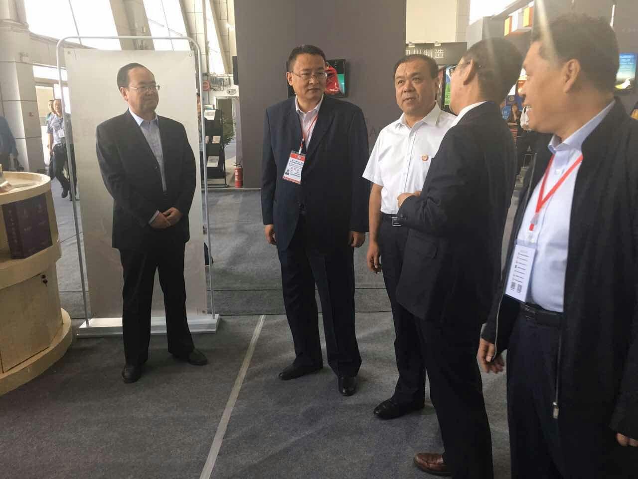 甘肅省人大常委會副主任馬青林及商務廳副廳長馬相忠