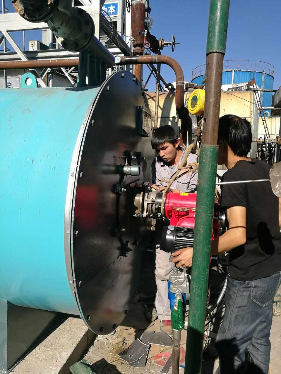 Gnhbt工业用燃料技改安装现场