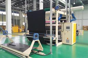 欧拓防音配件太仓分公司(瑞士独资)车用地毯剪毛生产线