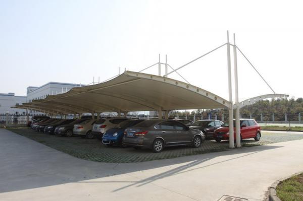膜構造車棚GCCP-07
