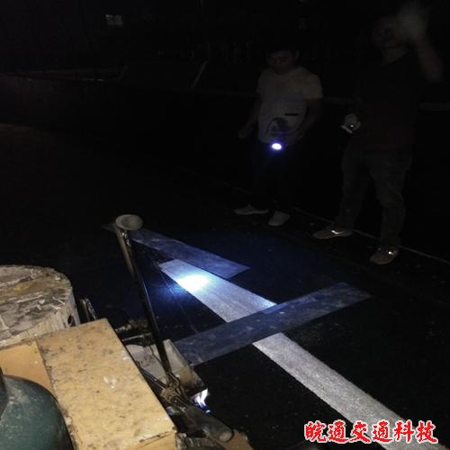 滁州电大校园道路划线