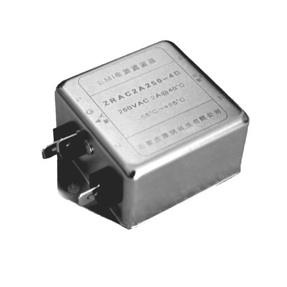 2A250V端子交流EMI電源濾波器