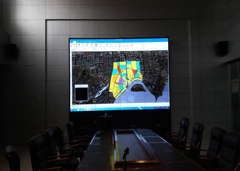 牡丹江市某局LCD拼接屏1