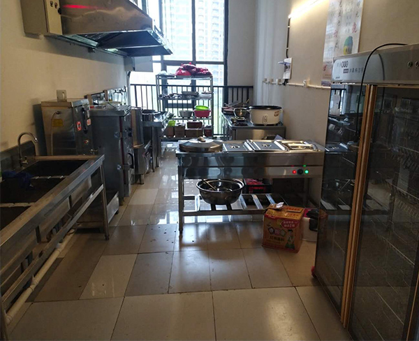 朗峰大廈物業食堂設備安裝
