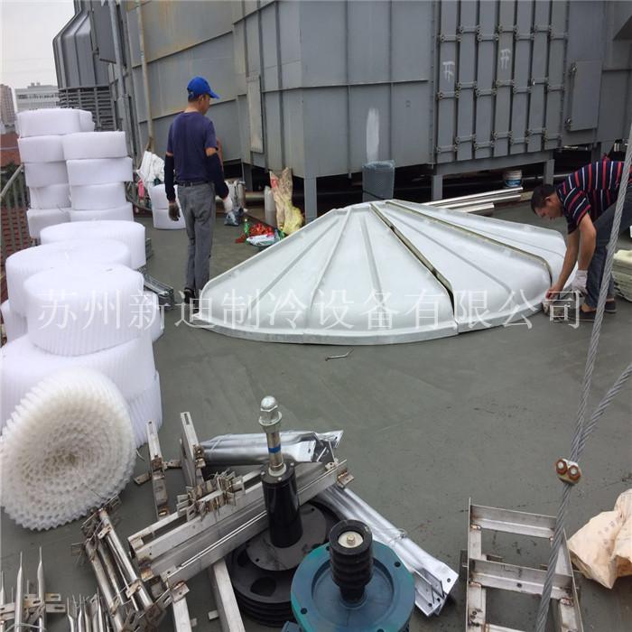 常熟350T圓塔項目-施工現場圖片
