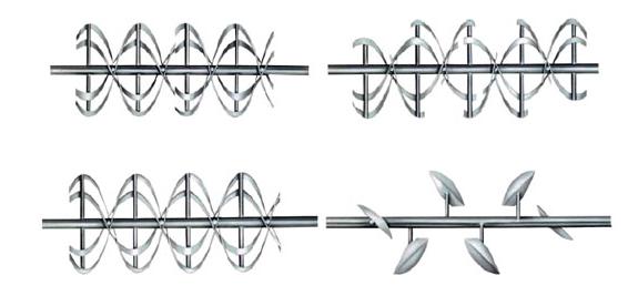 螺条式混合机的螺条