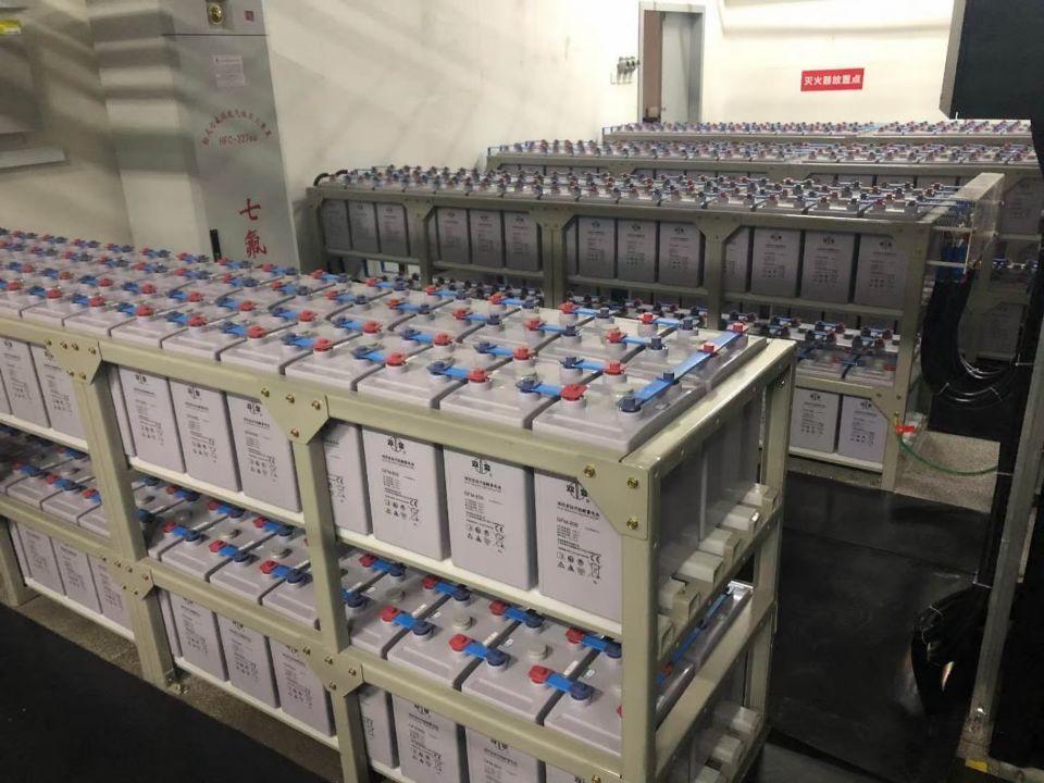 双登电池GFM-500 110V500Ah系统安装