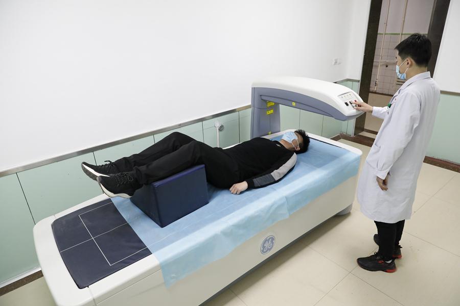 GE(美国通用)双能X线骨密度仪